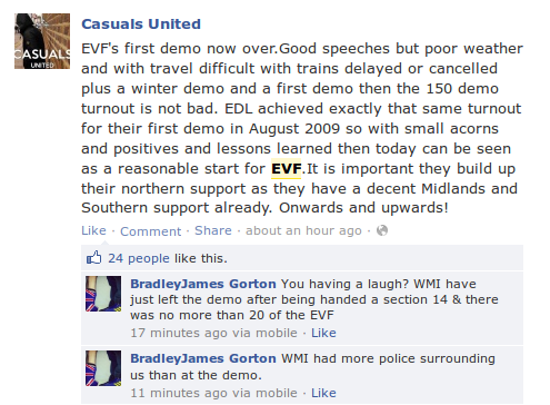 Casuals United caught out lying again
