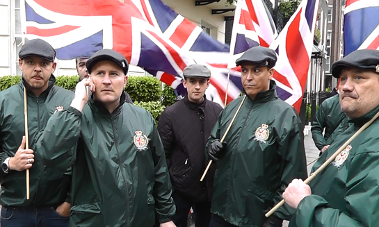 Britain First - reclaiming the flat cap for fascism