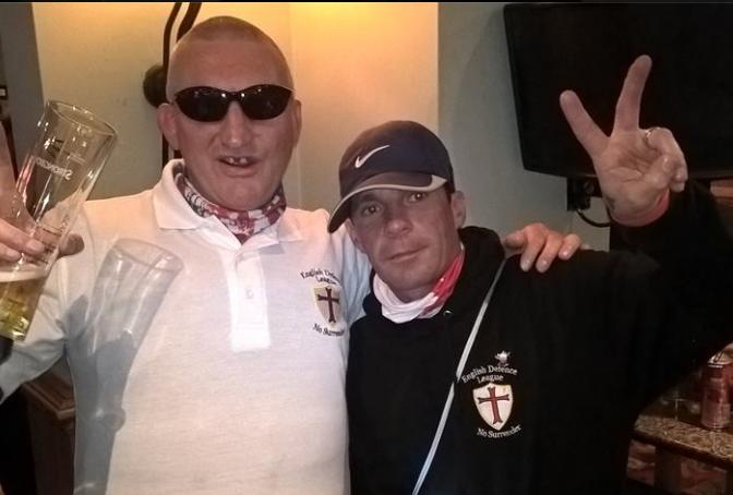 Ian Kellett (Nottingham) and Wayne Grisenthwaite (Manchester) - both were at recent NCI demo