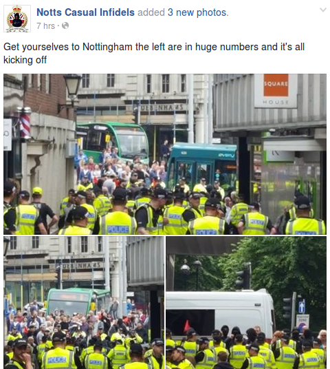 Casuals Infidels sounding very much like they're about to surrender