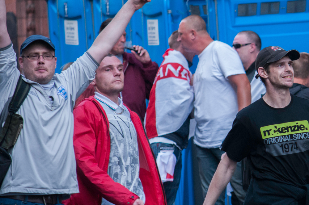 Right: Jimmi Rae, Worksop, Notts Casual Infidels